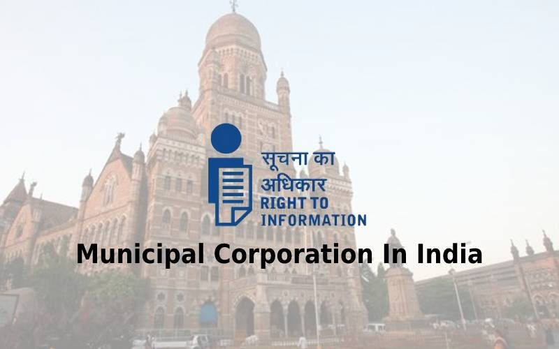 How To File RTI Online to Municipal Corporation In India