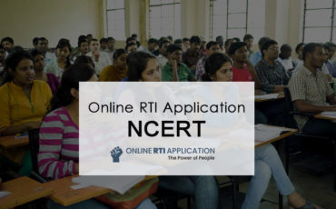 File RTI Application before NCERT