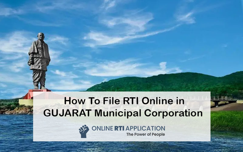 How To File RTI Online in GUJARAT Municipal Corporation