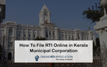 How To File RTI Online in Kerala Municipal Corporation