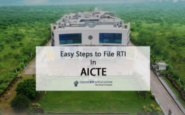 How to File RTI Application in AICTE