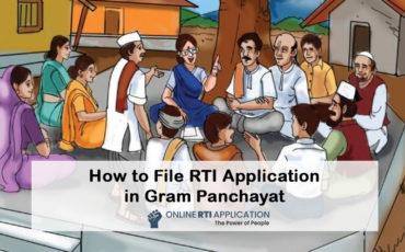 How to File RTI Application in Gram Panchayat