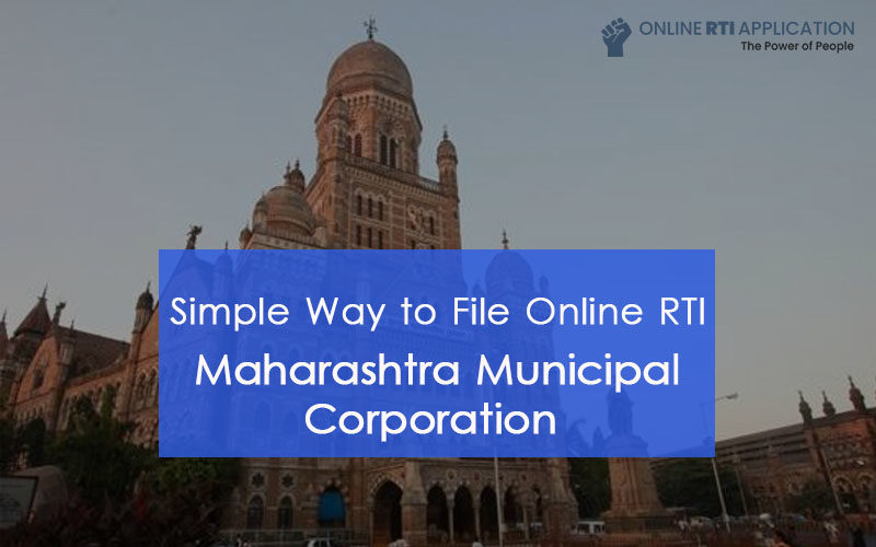 How to File RTI Online to Maharashtra Municipal Corporation