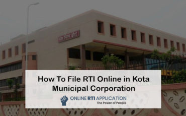 RTI to Kota Municipal Corporation